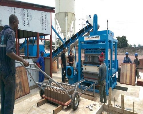RDC - 25 Block Making Machine