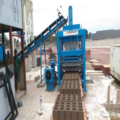 İnterlocking block machine